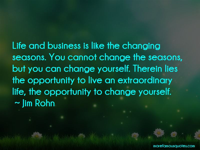 Quotes About Changing Seasons