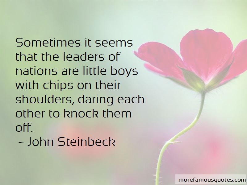 Quotes About Chips On Shoulders