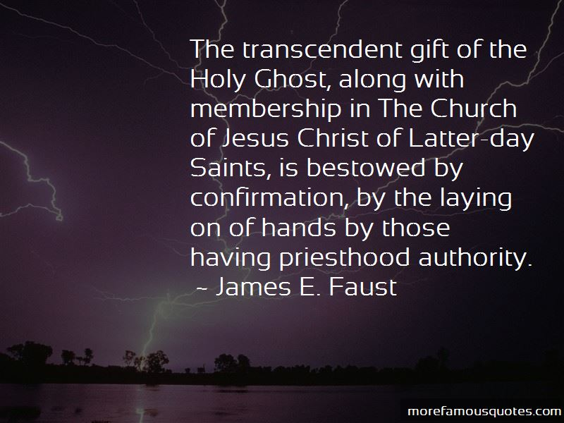 Quotes About Church Confirmation