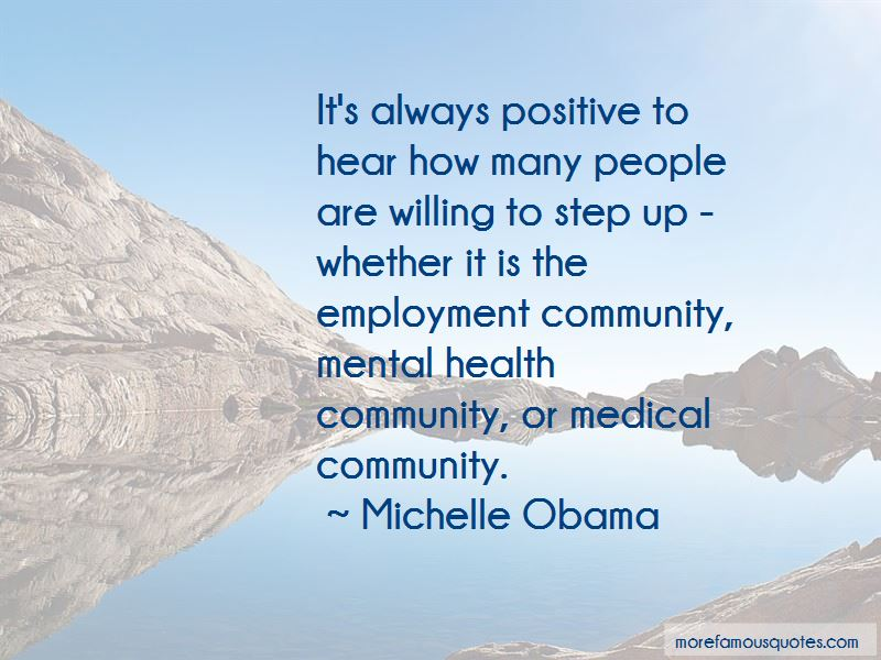 Quotes About Community Mental Health