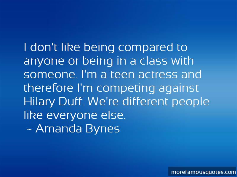Quotes About Competing For Someone