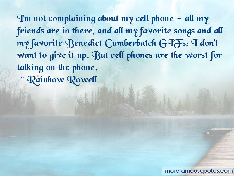 Quotes About Complaining Friends