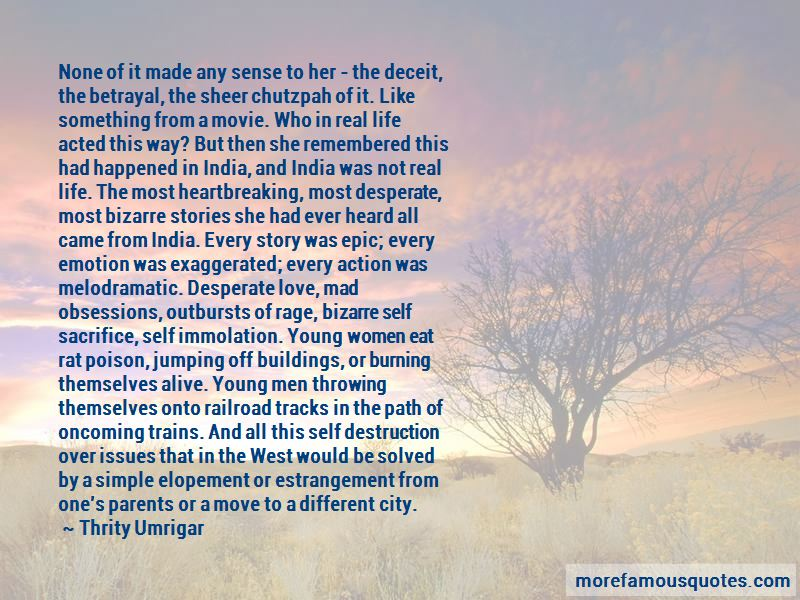 Quotes About Desperate Love