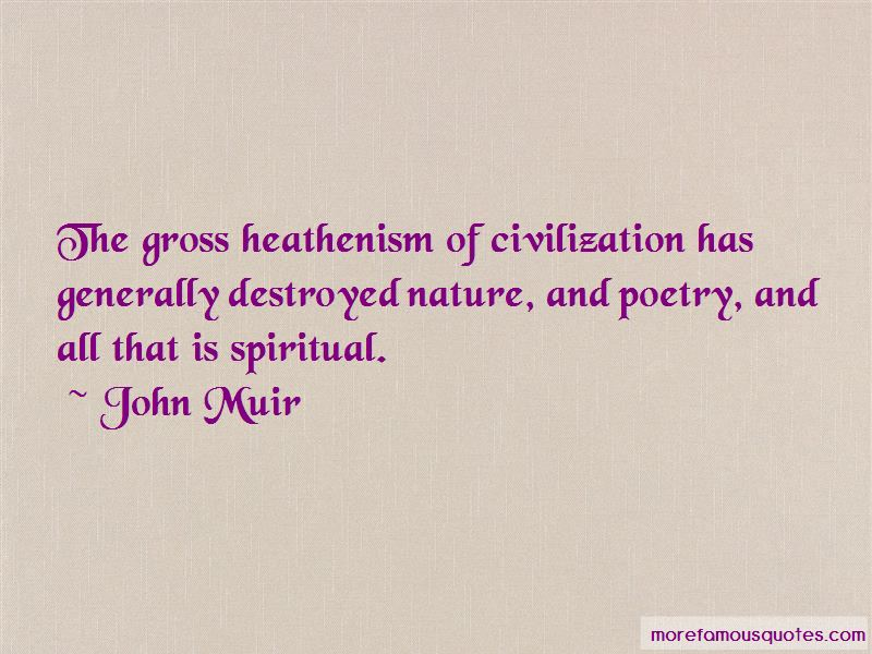 Quotes About Destroyed Nature