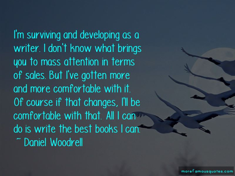 Quotes About Developing As A Writer