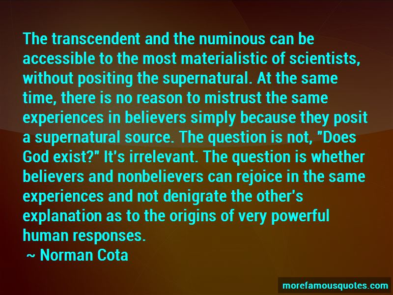 Quotes About Does God Exist