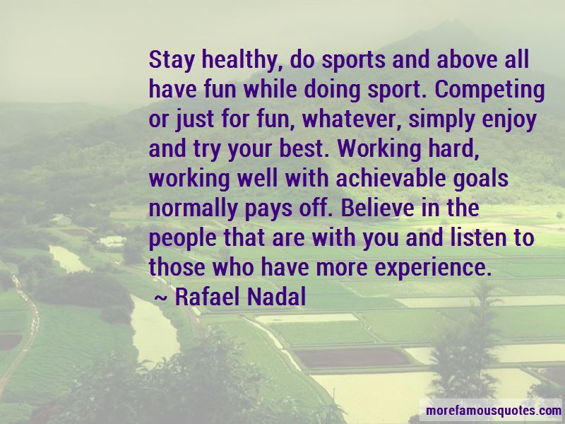 Doing Well In Sports Quotes Pictures 3