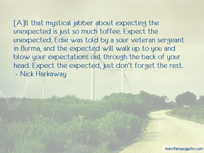 Quotes About Expecting The Unexpected