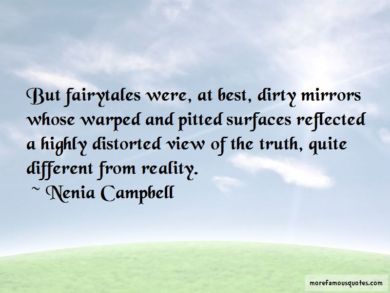 Quotes About Fairytales And Reality