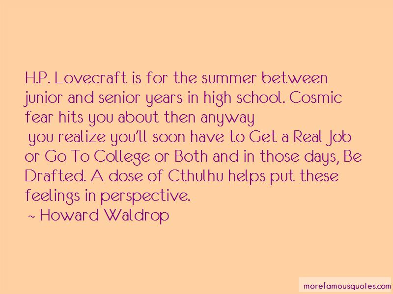 Quotes About Fear Lovecraft