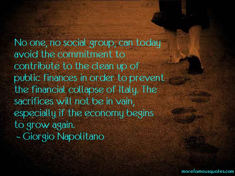 Quotes About Financial Collapse