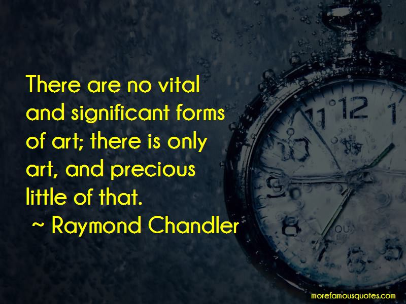 Forms Of Art Quotes Pictures 2
