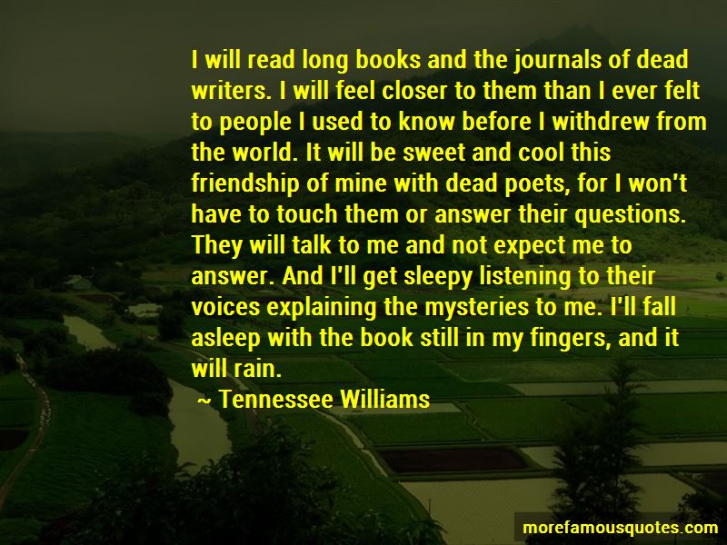 Quotes About Friendship By Poets