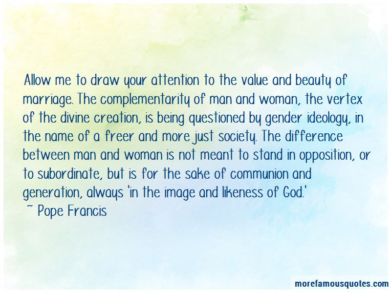 Quotes About Gender Ideology