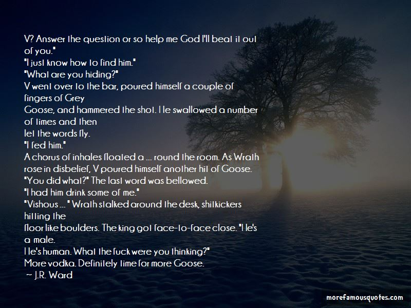 Quotes About Grey Goose Vodka