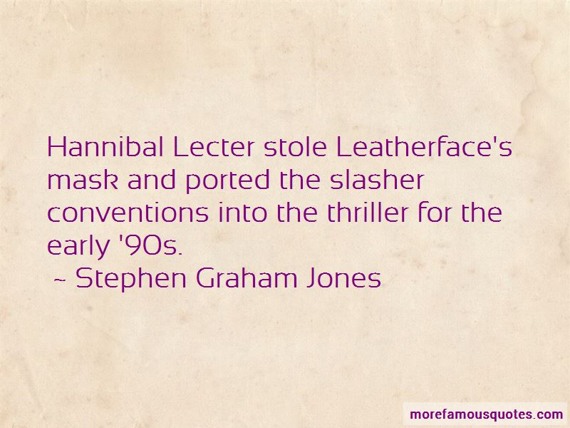 Quotes About Hannibal Lecter