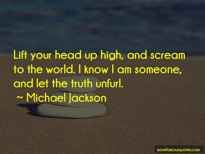 Quotes About Head Up High