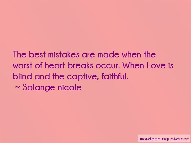 Quotes About Heart Breaks Love