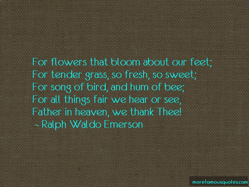 Quotes About Heaven And Flowers