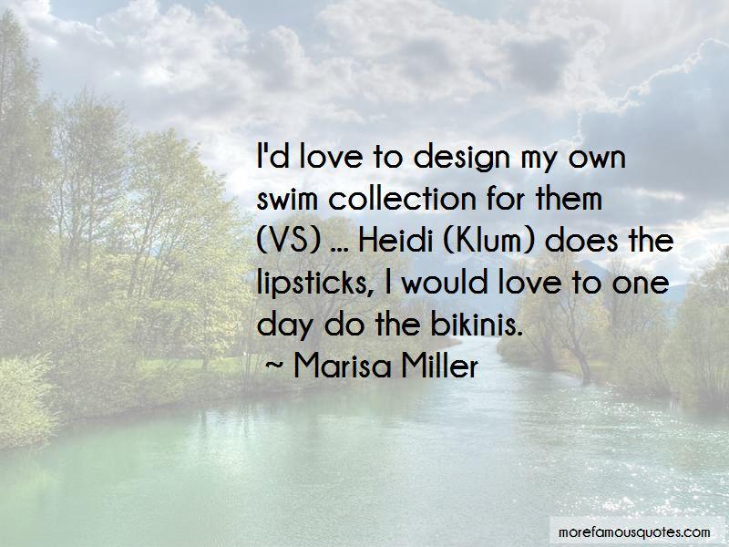 Quotes About Heidi Klum