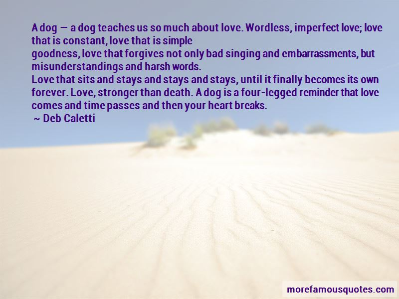 Quotes About Imperfect Love