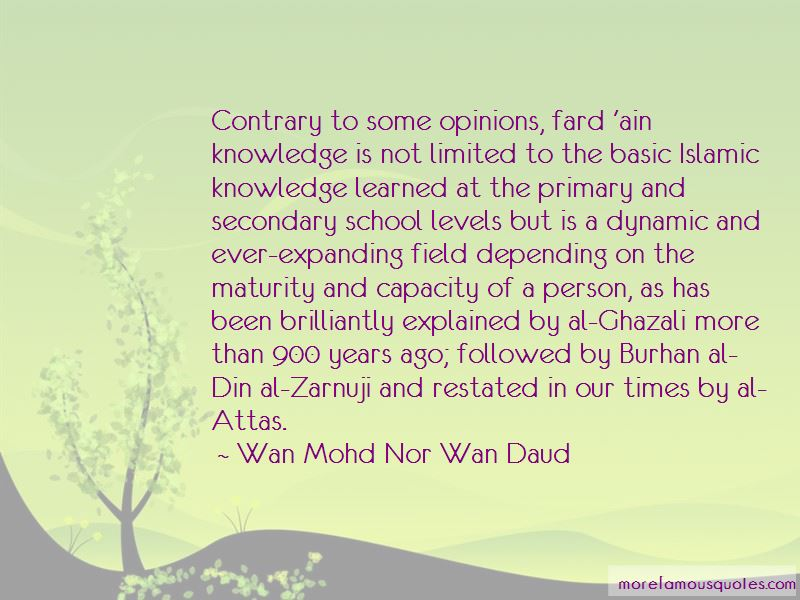 Quotes About Islamic Knowledge