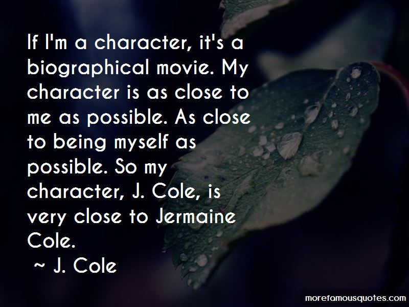 Quotes About J Cole