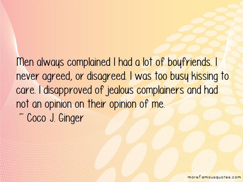 Quotes About Jealous Ex Boyfriends