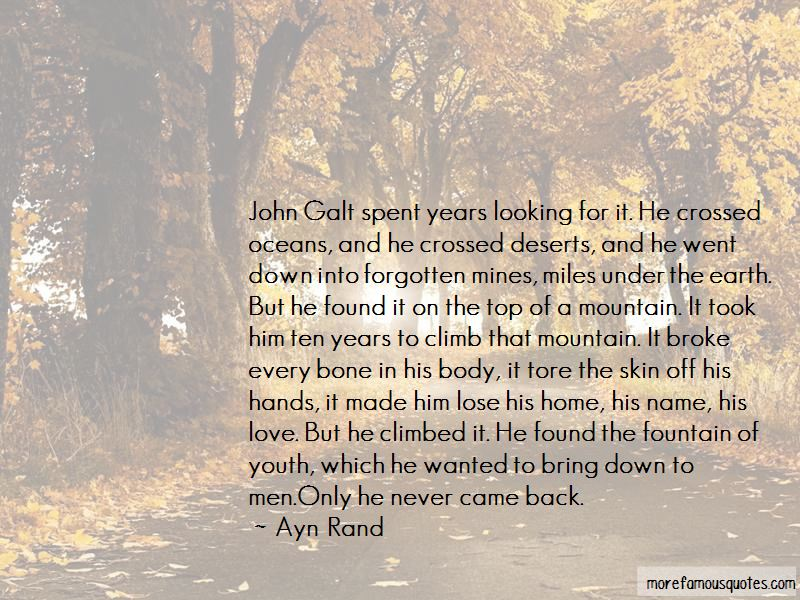 Quotes About John Galt