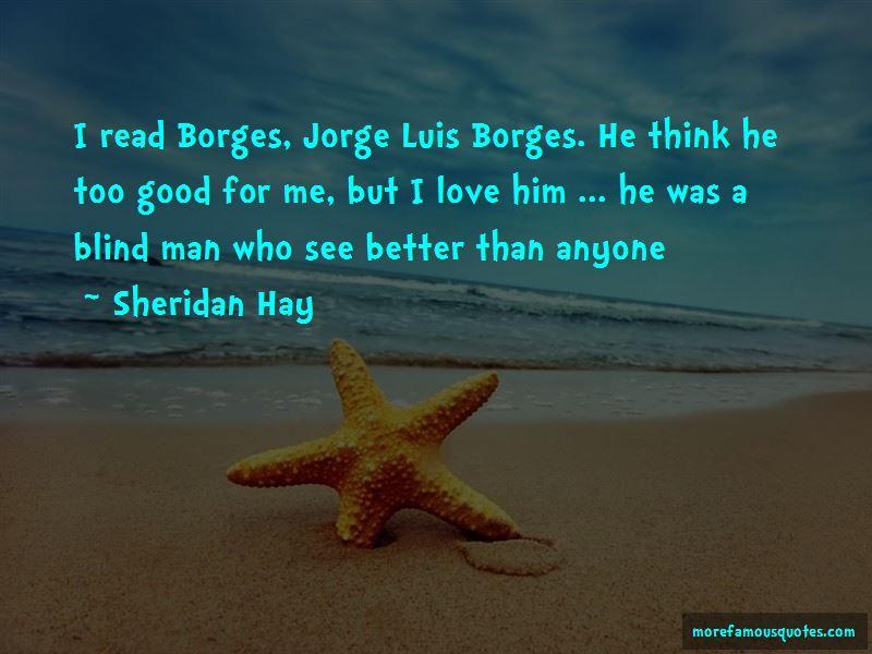 Quotes About Jorge Luis Borges