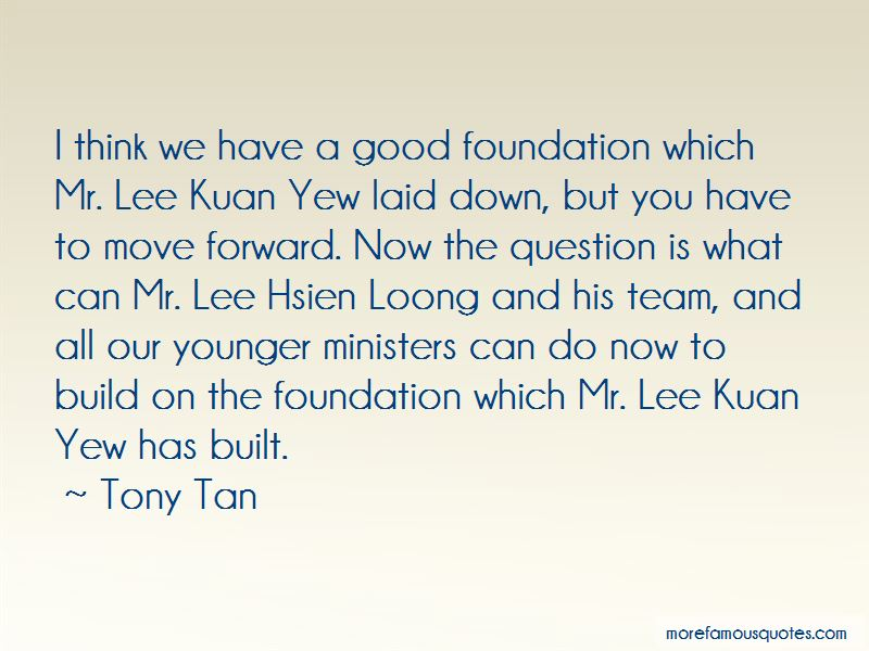 Quotes About Lee Kuan Yew