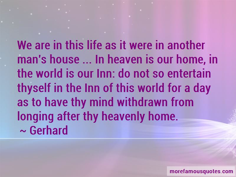 Longing For Heaven Quotes Pictures 2