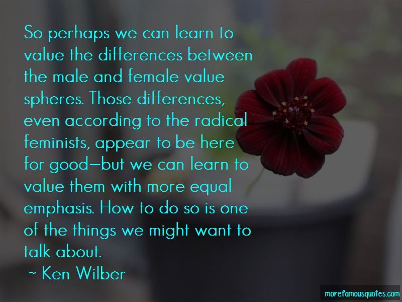 Quotes About Male And Female Differences