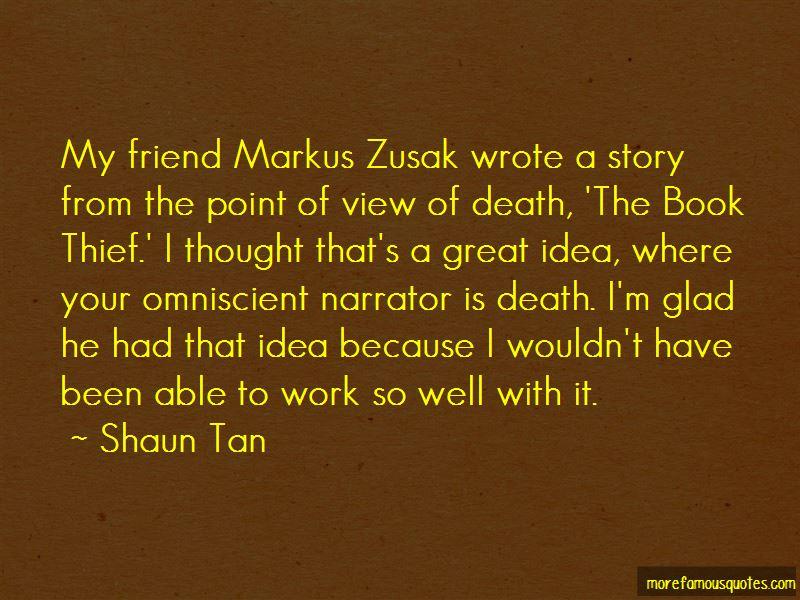 Quotes About Markus Zusak