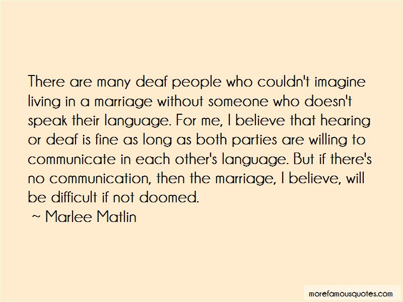 Marriage And Communication Quotes Pictures 4