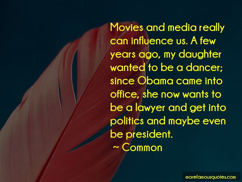 Quotes About Media Influence