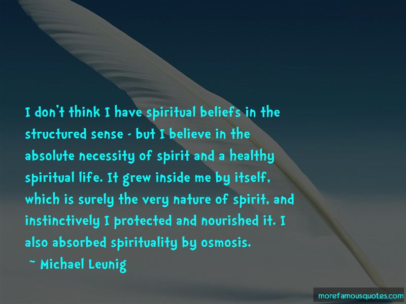 Quotes About Nature And Spirituality
