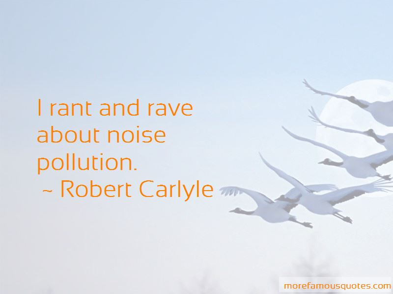 Quotes About Noise Pollution