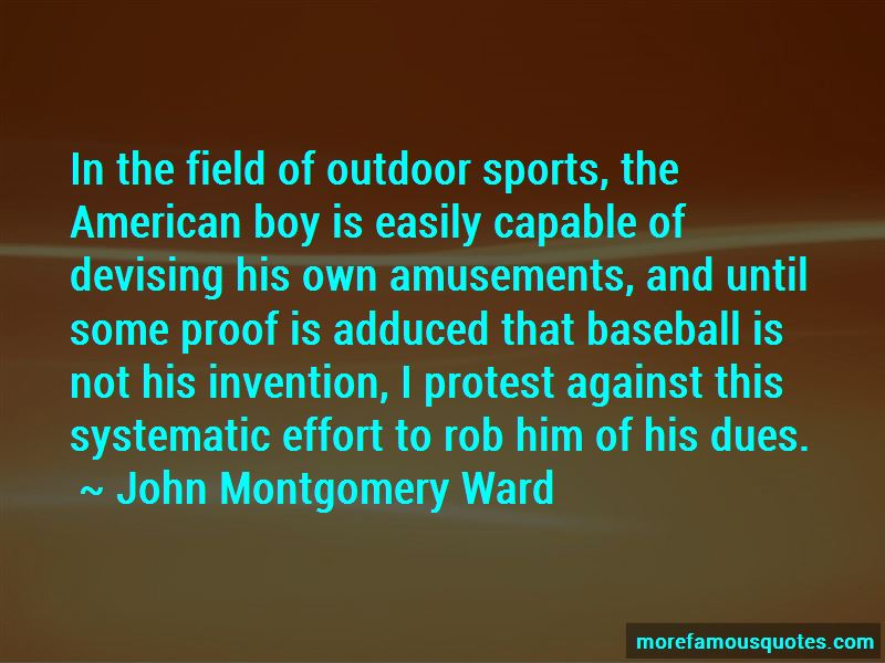 Quotes About Outdoor Sports