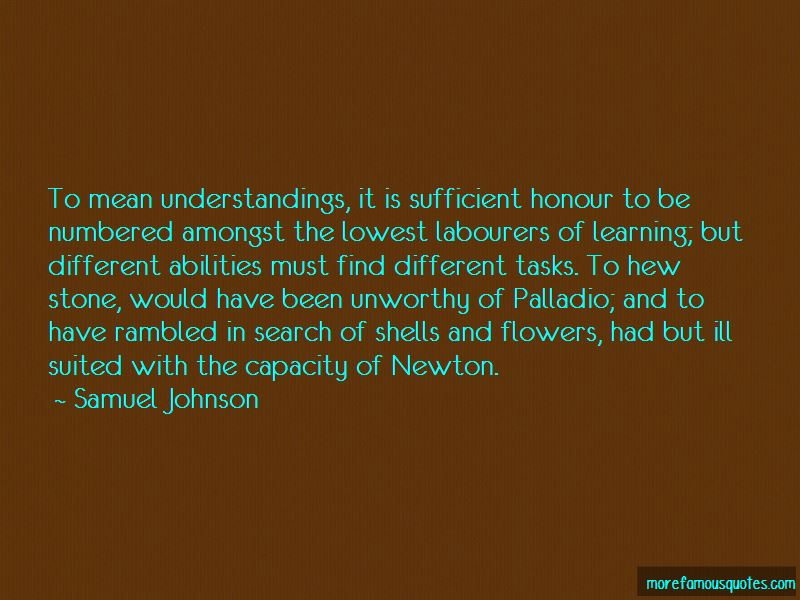 Quotes About Palladio