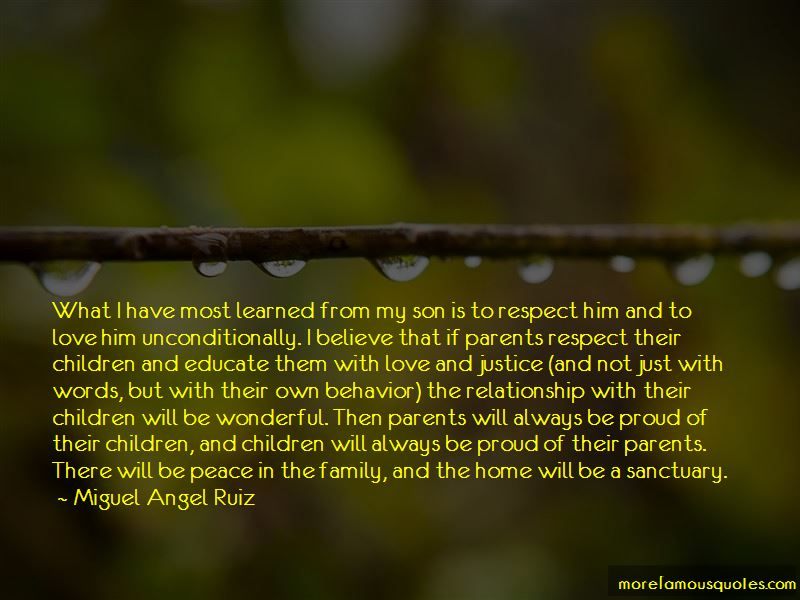 Quotes About Parents Love For Their Son