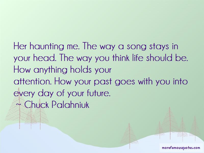 Quotes About Past Haunting You
