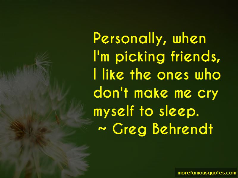 Quotes About Picking Friends