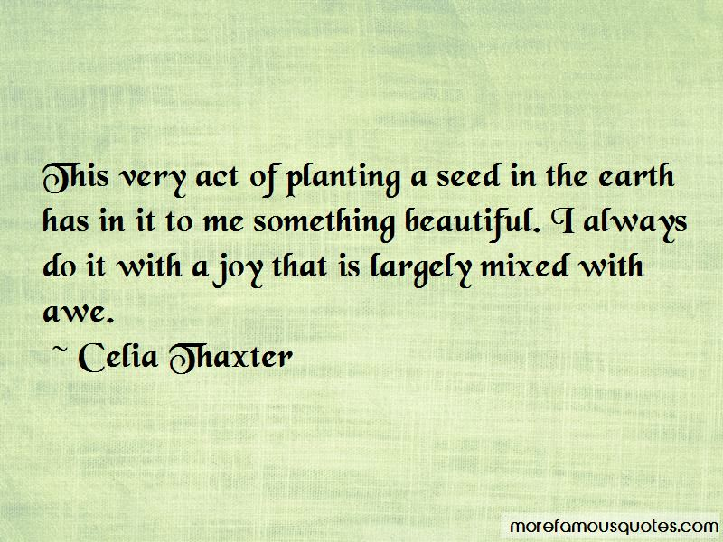 Quotes About Planting A Seed