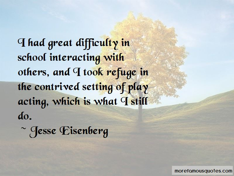 Quotes About Play Acting