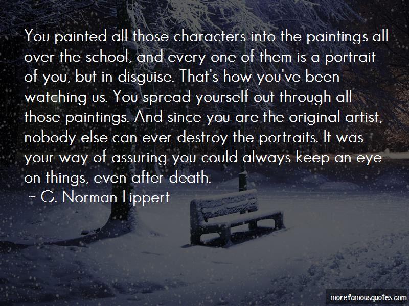 Portrait Paintings Quotes Pictures 2
