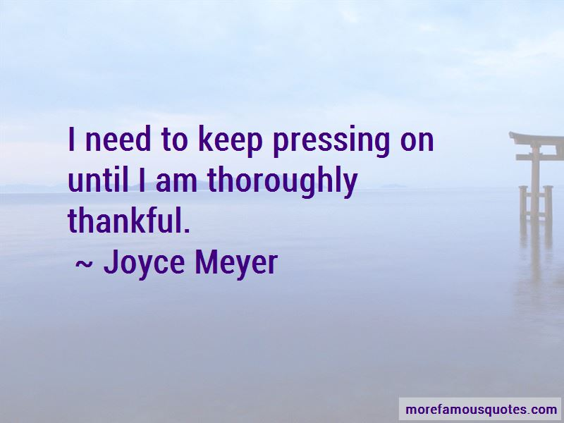 Quotes About Pressing On