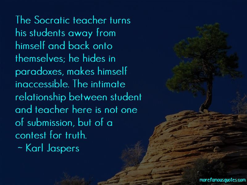 Quotes About Relationship Between Student And Teacher