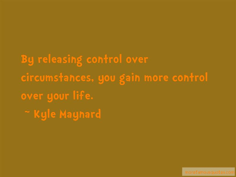 Quotes About Releasing Control