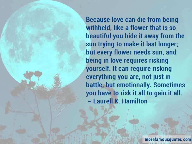 Risking For Love Quotes Pictures 2